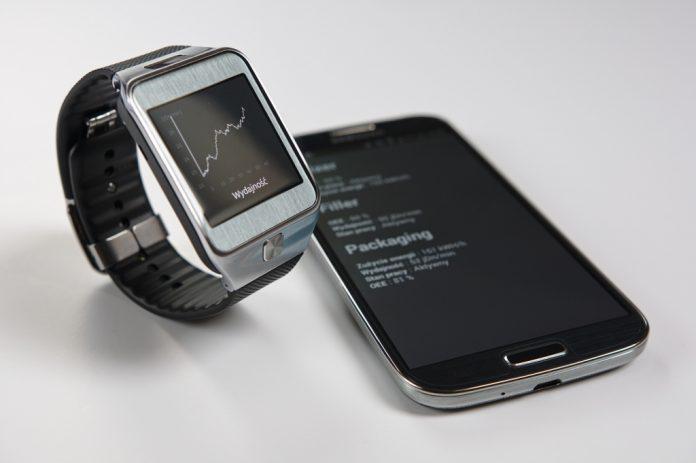 Zegarek typu smartwatch