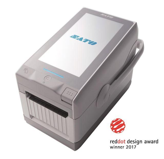 drukarkę etykiet z ekranem dotykowym