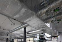 izolować kanały HVAC