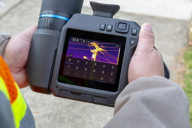 kamera termowizyjna FLIR T840