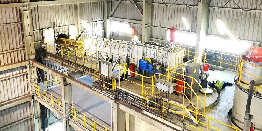 Modernizacja młynowni węgla
