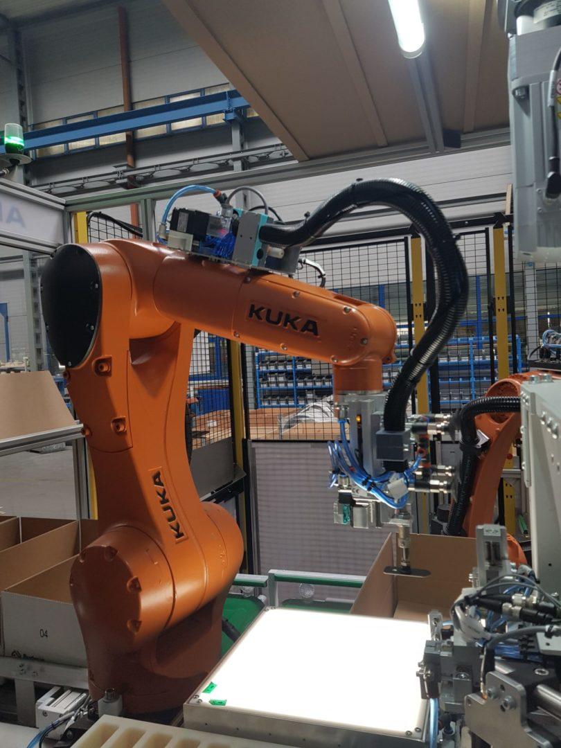 czyszczenie robotów