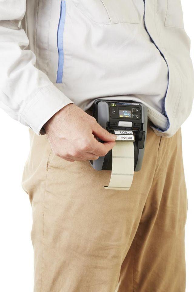 Firma SATO wprowadza na rynek mobilną drukarkę