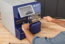 aplikator i drukarka do identyfikacji przewodów Wraptor A6500