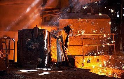 pracownik przemysłu stalowego