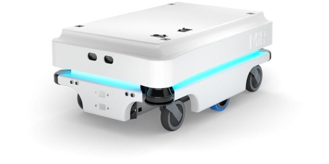Współpracujące roboty mobilne MiR