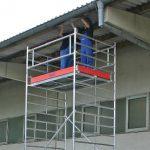 mobilne stanowisko pracy na wysokości