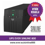 Zasilacz awaryjny UPS SINLINE 800