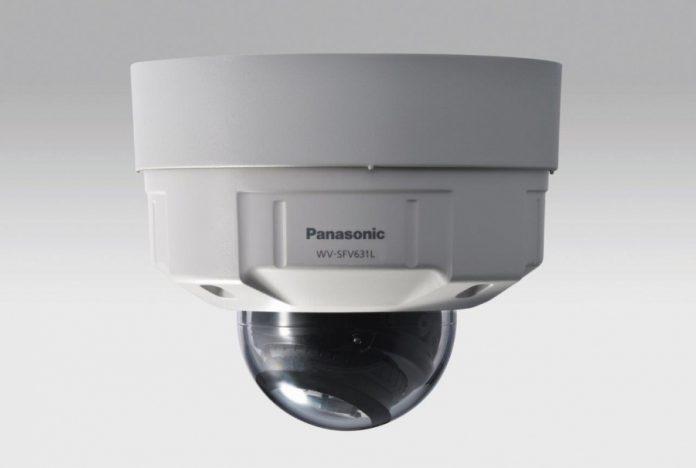 linia kopułkowych kamer dozorowych