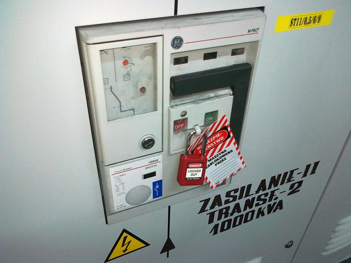System Lockout Tagout on-line